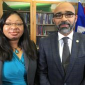 With Consul General Forbin, NYCTV, May 2016