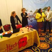 Speaking at Haiti Tourism Roadshow, August 2015